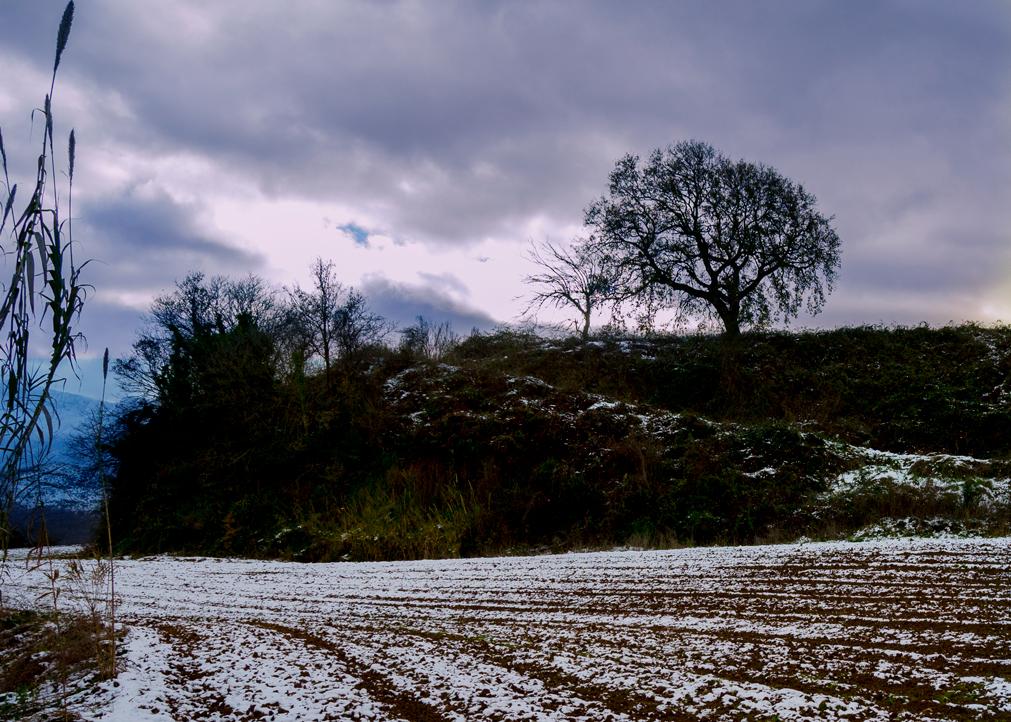 La neve. A benedire la semina